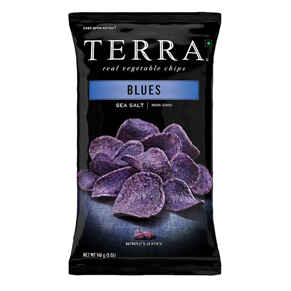 Terra Blues Potato Chips - 141gm