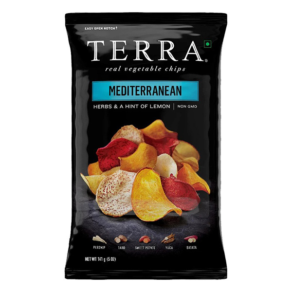 Terra Mediterranean Vegetable Chips - 141gm