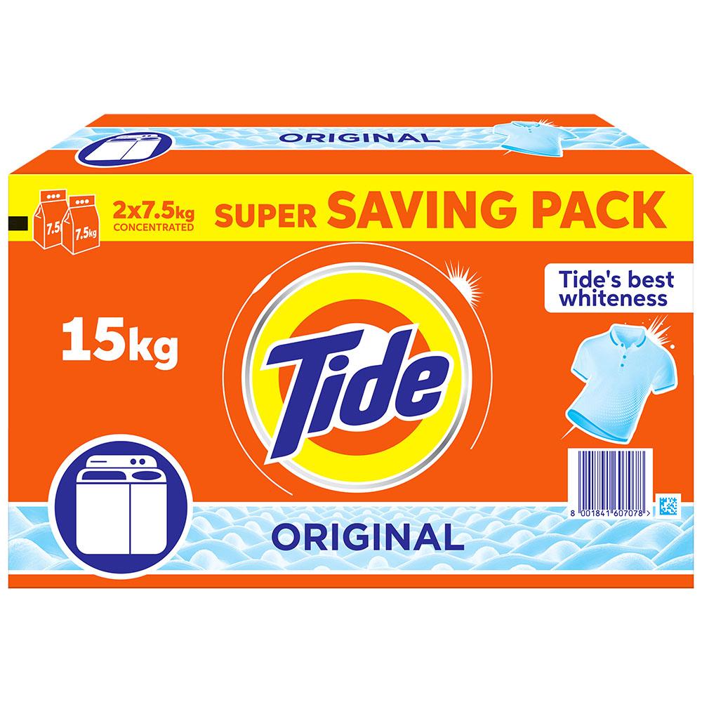 Tide Original Detergent Powder - 2x7.5kg