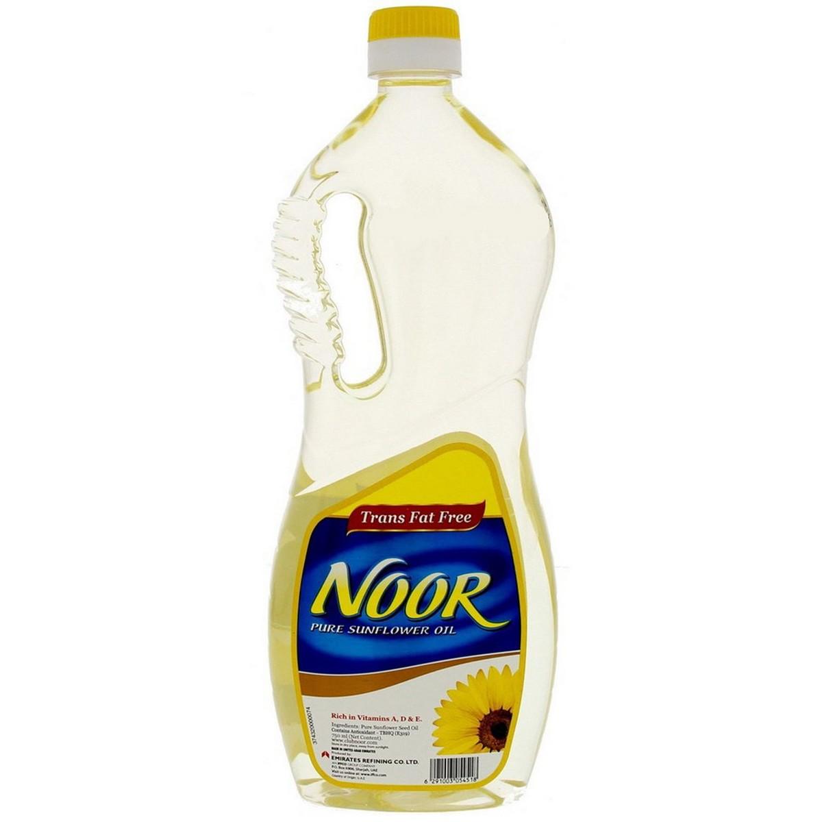 Noor Sunflower Oil 750ml