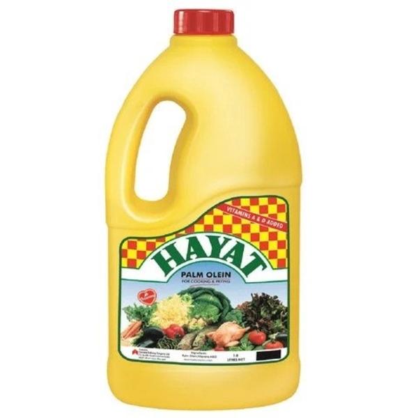 Hayat Palm Oil PVC 1.8ltr