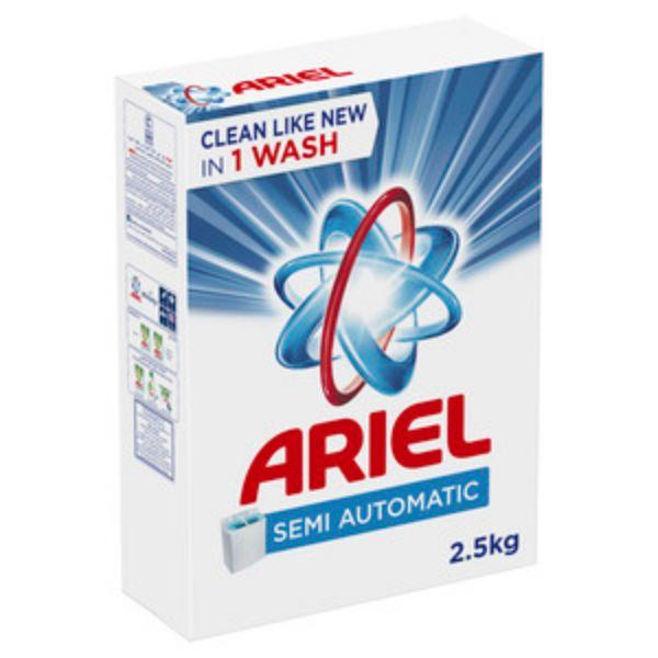 Ariel Original Laundry Detergent Powder Blue - 2.5Kg