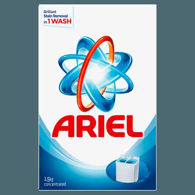Ariel Original Laundry Detergent Powder Blue - 1.5Kg
