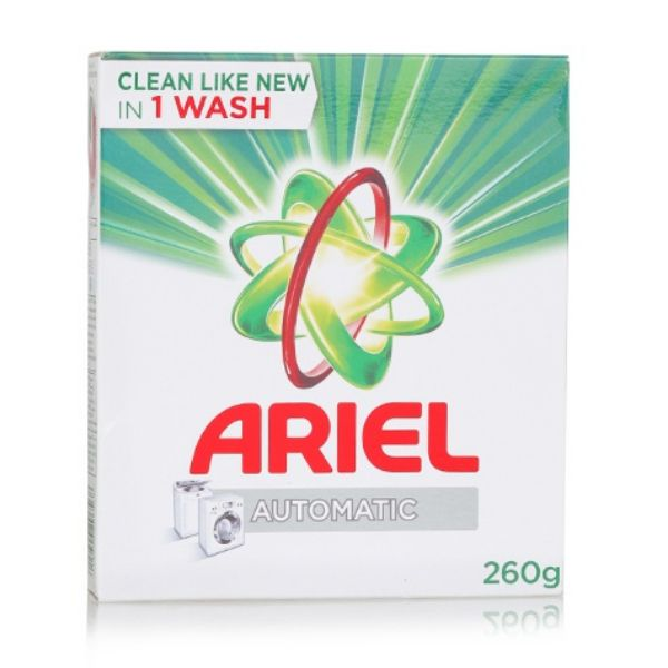 Ariel Automatic Laundry Detergent Powder Green - 260gm