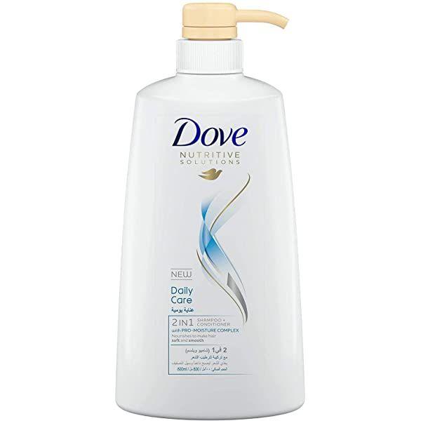 Dove Daily Care 2 IN1 Shampoo & Conditioner - 600ml