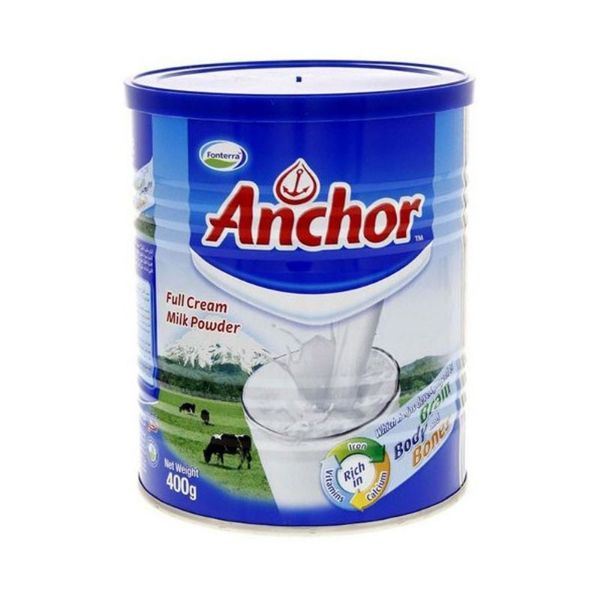 Anchor Full Cream Milk Powder Tin - 400gm