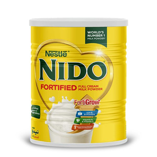 Nestle Nido Fortified Milk Powder Tin - 2.5kg