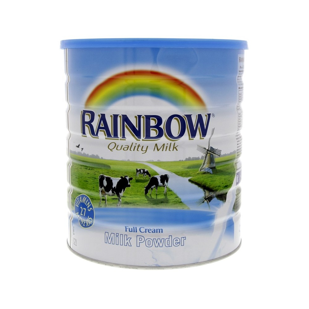 Rainbow Full Cream Milk Powder Tin - 2.5kg