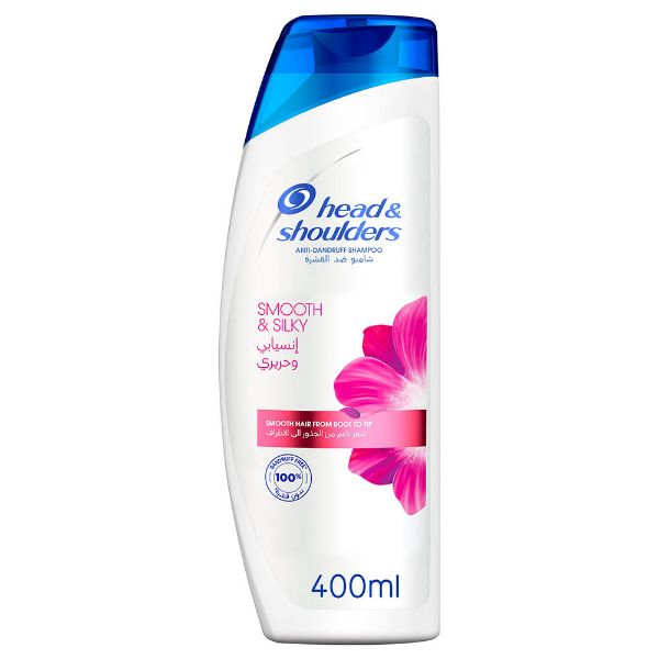 Head & Shoulders Smooth & Silky Anti Dandruff Shampoo - 400ml