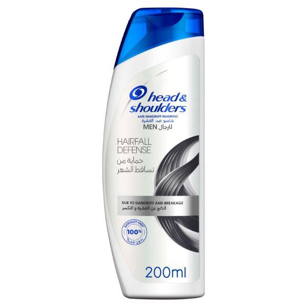 Head & Shoulders Hairfall Defence Anti Dandruff Shampoo - 200ml