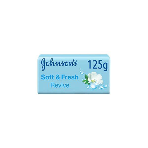 Johnson's Soft & Fresh Revive Soap Bar - 125gm
