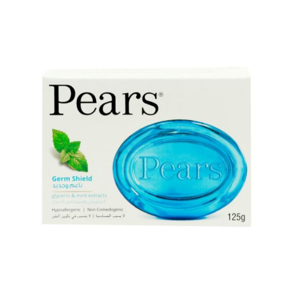Pears Germ Shield Soap Bar - 125gm