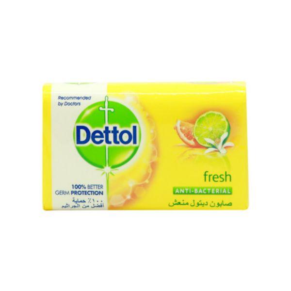 Dettol Fresh  Antibacterial Soap Bar - 165gm