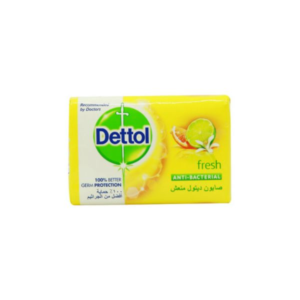 Dettol Fresh  Antibacterial Soap Bar - 120gm