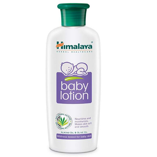 Himalaya Baby Lotion With Almond & Olive Oil - 200gm
