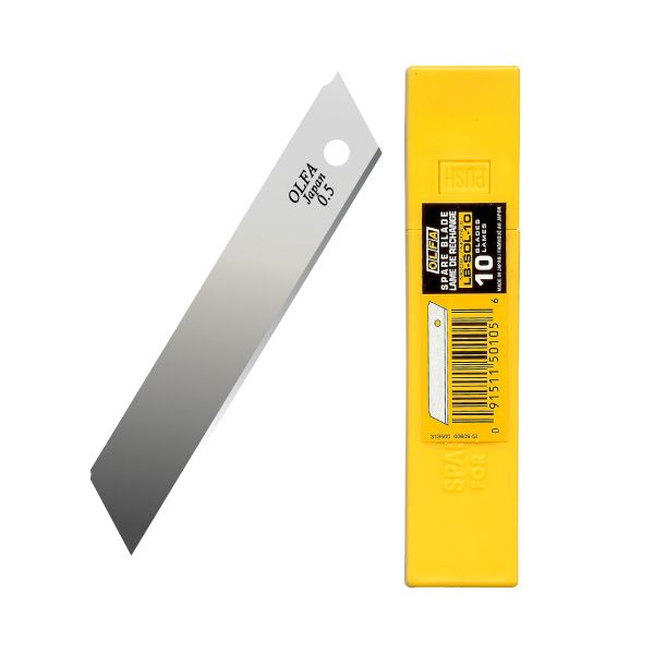 Olfa LB-10 Heavy-Duty Spare Blade 18mmx100mm (Pkt/10pc)