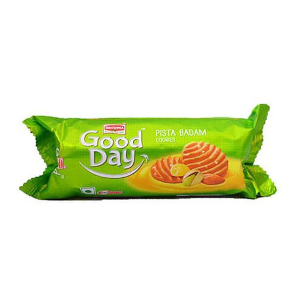 Britannia Good Day Pista Badam Cookies -24x90gm
