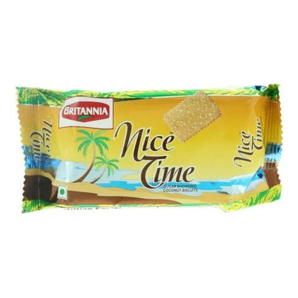 Britannia Nice Time Biscuit - 100gm