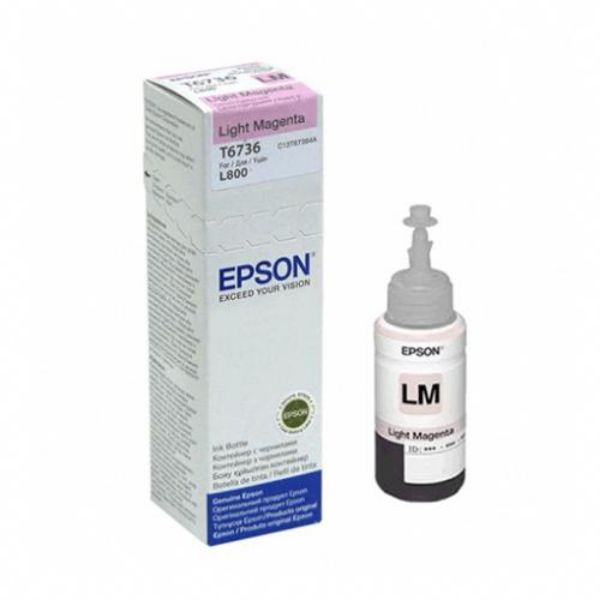 Epson T6736 Ink Bottle 70ml - Light Magenta