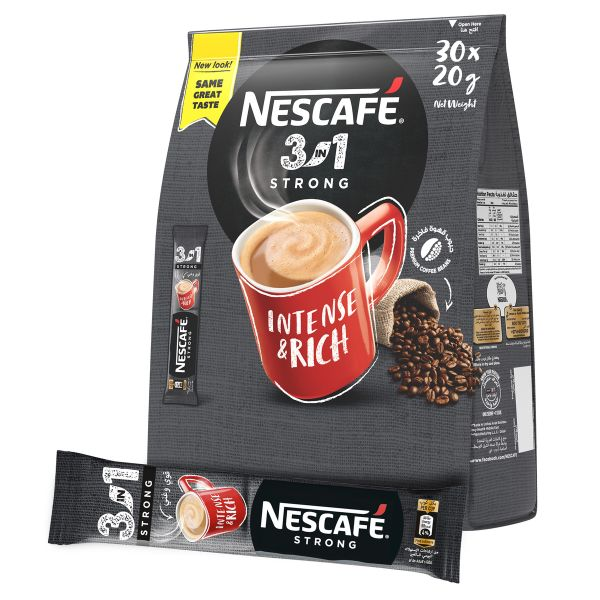 Nescafe 3-in-1 Coffee Mix - Intenso (pkt/30pcs)