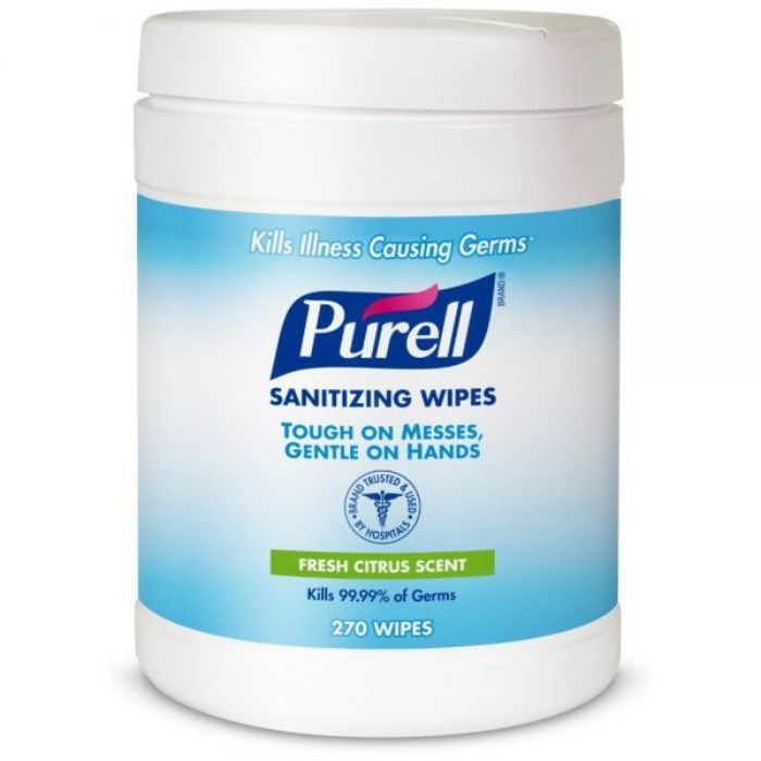 Purell 9113-06 Hand Sanitizing Wipes (box/270pcs)