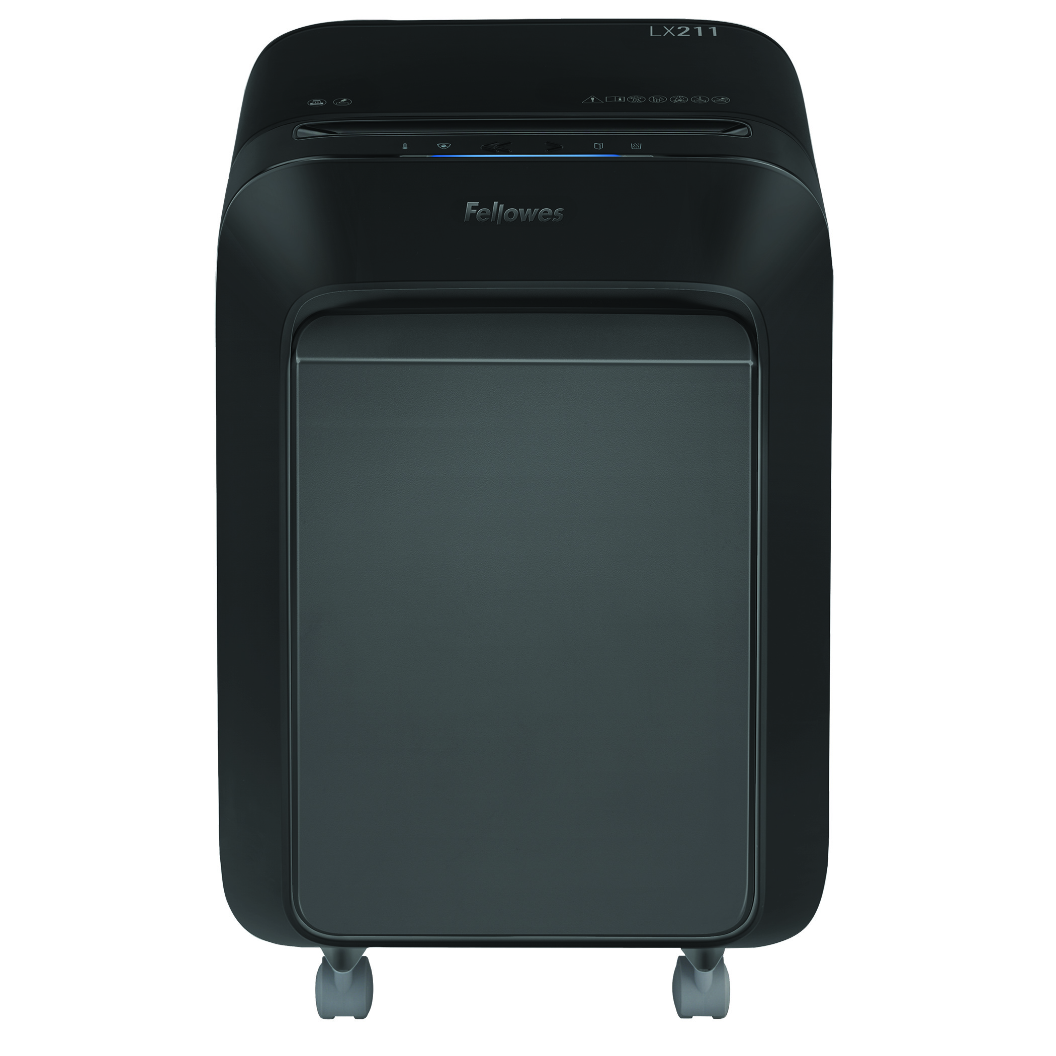 Fellowes LX211 15 Sheet Micro Cut Shredder - Black