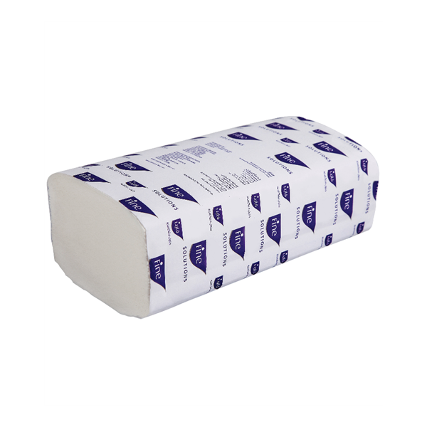 Fine Interfold Prime Hand Towel 200 Sheets x 2Ply - White (box/20pkt)