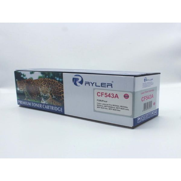 Ryler 203A (CF543A) Compatible Toner Cartridge - Magenta