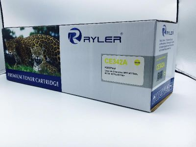 Ryler 651A (CE342A) Compatible Toner Cartridge - Yellow