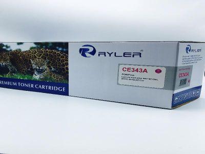 Ryler 651A (CE343A) Compatible Toner Cartridge - Magenta
