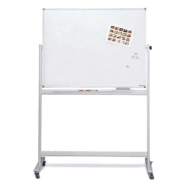 Magnetoplan Mobile Magnetic Whiteboard - 180cm x 120cm (pc)
