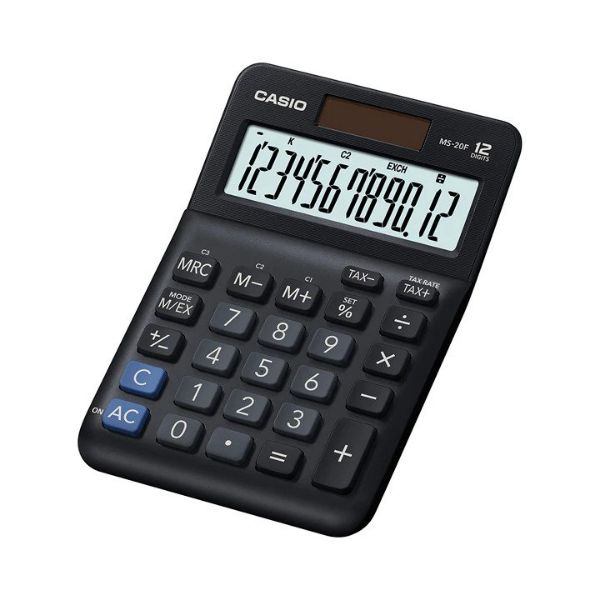 Casio MS-20F 12-Digit Electronic Calculator