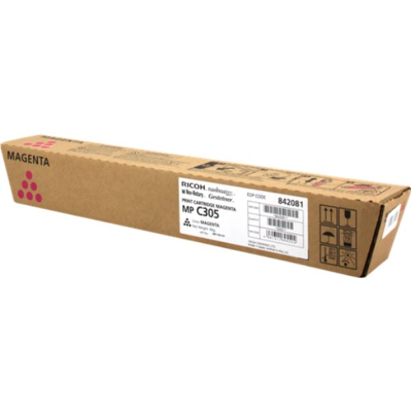 Ricoh MP C305 Toner Cartridge - Magenta
