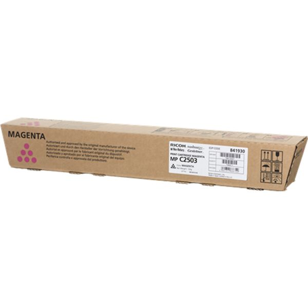 Ricoh MP C2003 / C2503 / C2004 / C2504 (841930) Toner Cartridge - Magenta