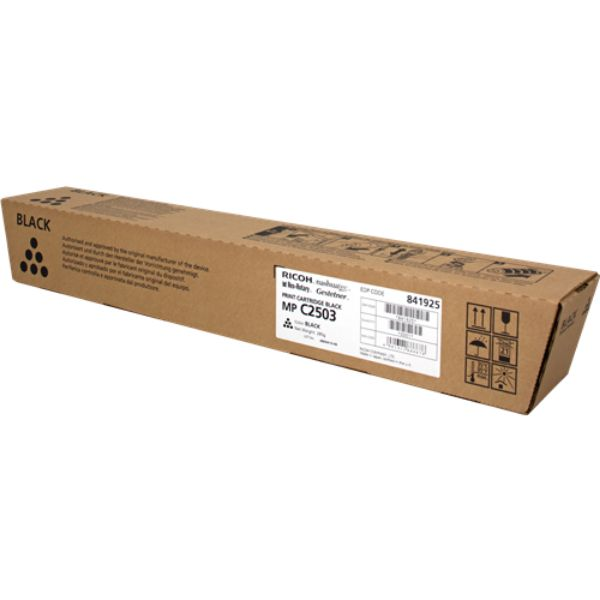 Ricoh MP C2003 / C2503 / C2004 / C2504 (841925) Toner Cartridge - Black