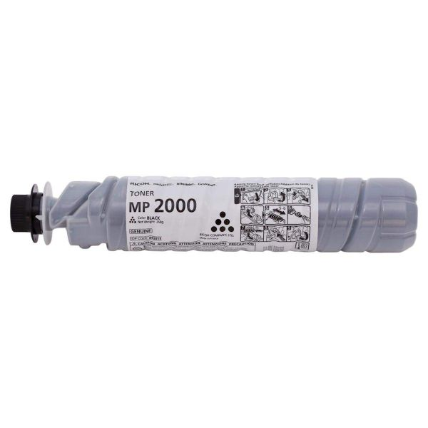 Ricoh MP2000 for MP 2015 / MP 2018 / Aficio 1015 / Aficio 1018 (842340) Toner Cartridge - Black