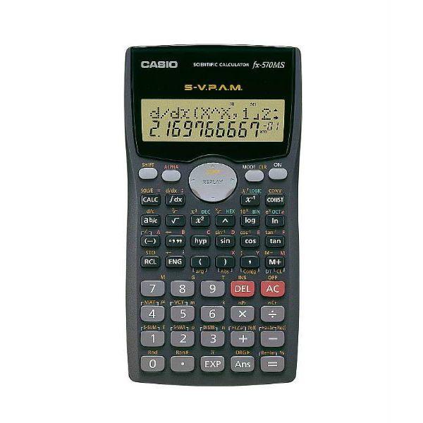 Casio FX-570MS 2-Line Display Scientific Calculator