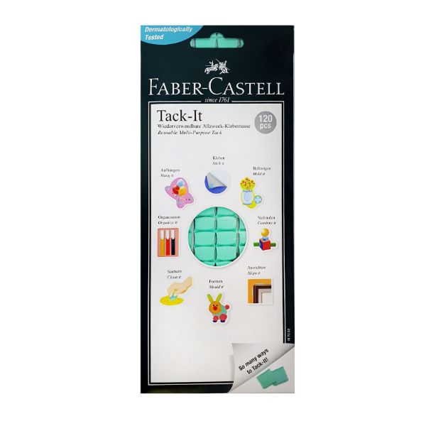 Faber Castell Tack-It 75gm (pkt/120pc)