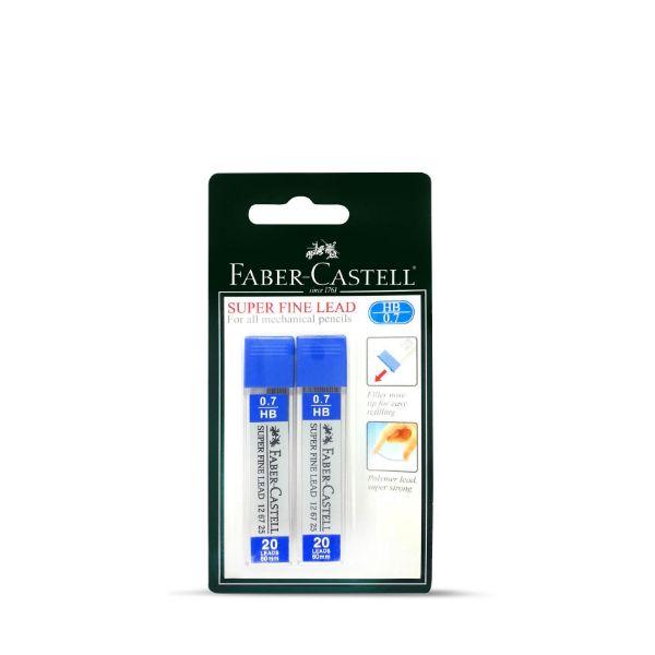 Faber Castell Super Fine Leads 0.7mm (pkt/40pcs)