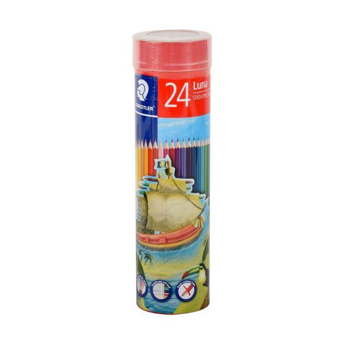 Staedtler 136 MC Luna Colouring Pencils Cylinder (pkt/24pcs)