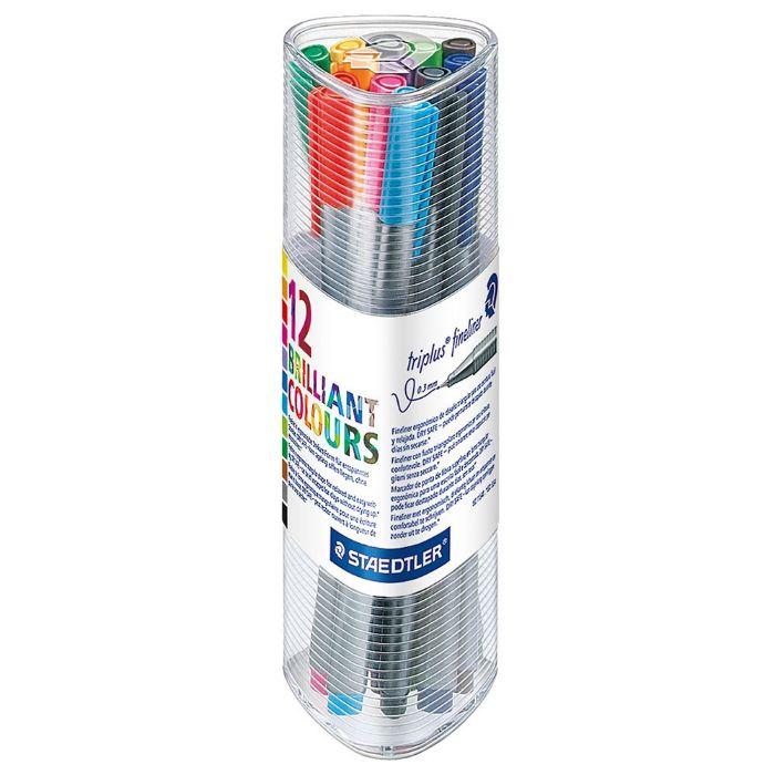 Staedtler Triplus Fineliner Pen Set (pkt/12pcs)