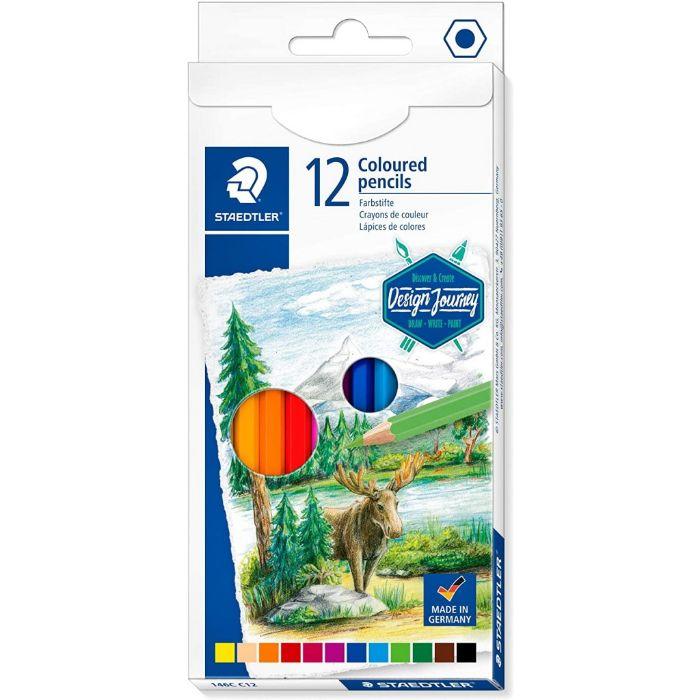 Staedtler ST-145-AM12 Colour Pencils Set (pkt/12pcs)