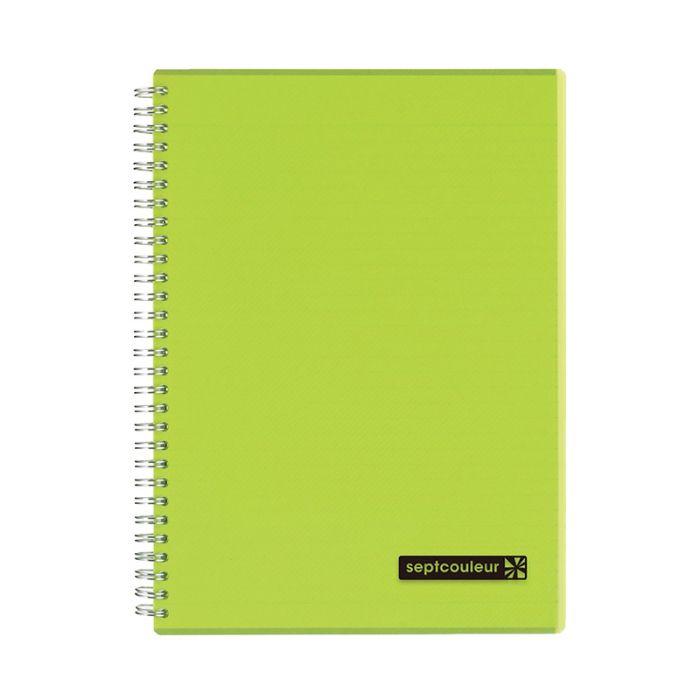 Maruman Septcouleur Notebook B5 80 Sheets - Green (pc)