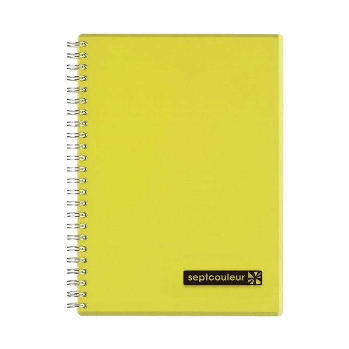 Maruman Septcouleur Notebook A5 80 Sheets - Yellow (pc)