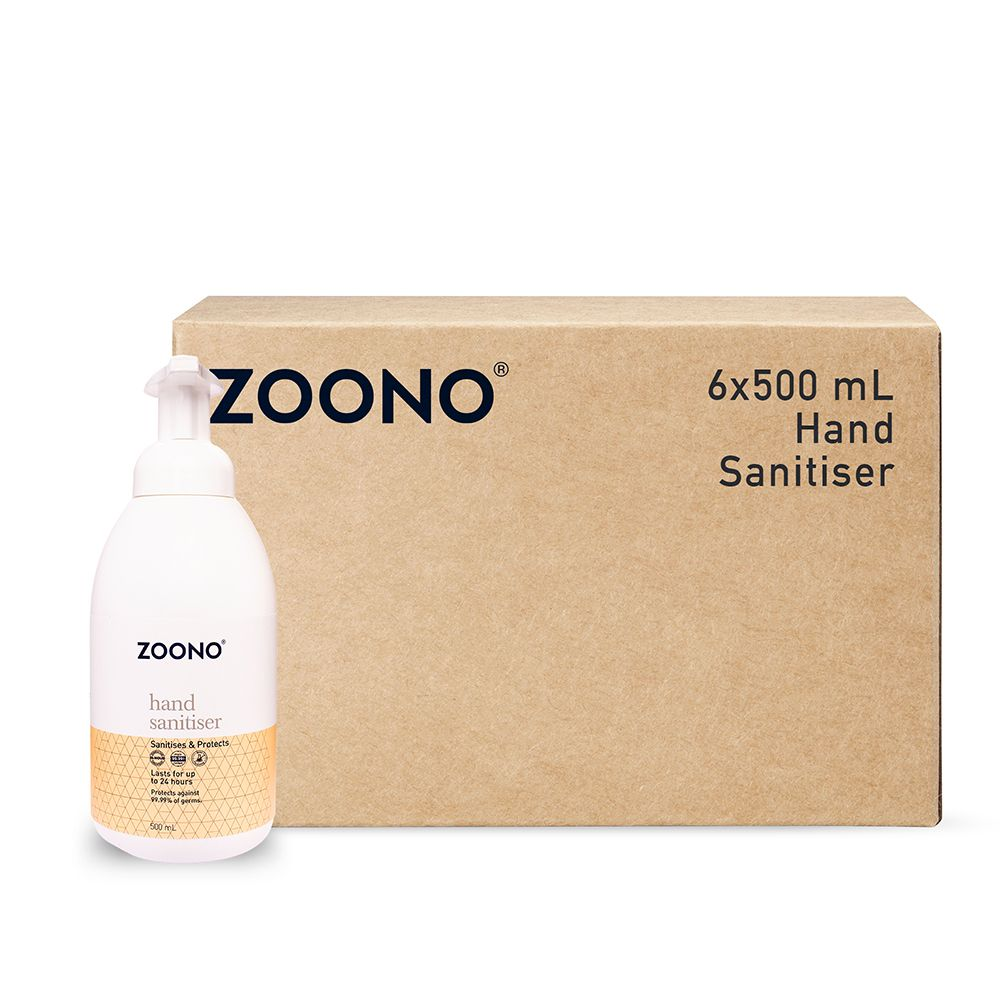 Zoono Germ Free 24 Hand Sanitiser and Protectant 24 Hour Protection - 500ml x 6