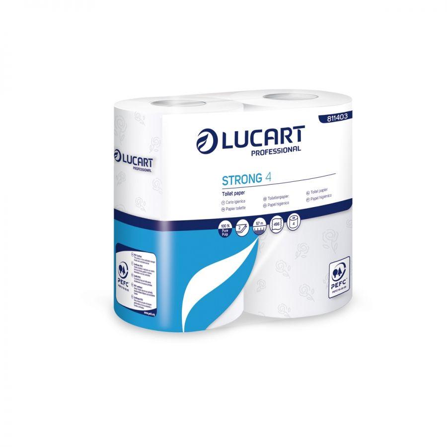 Lucart TS15 Toilet Rolls 15 2-ply 496 sheets (box/56rolls)