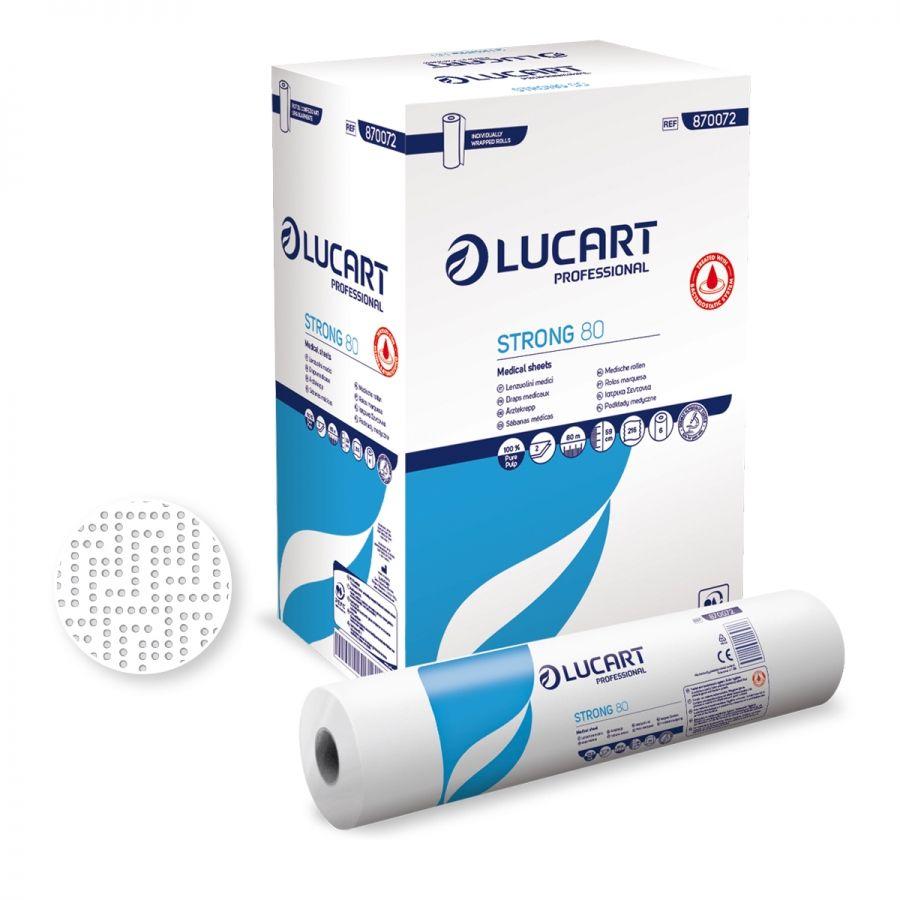 Lucart TS32 Bed Sheet 32 216 sheets x 80m (box/6rolls)
