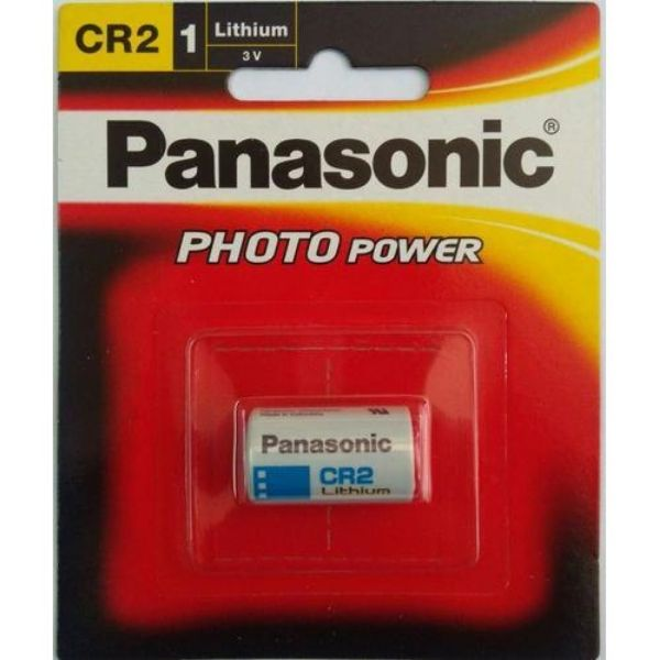 Panasonic CR2 3V Lithium Photo Battery