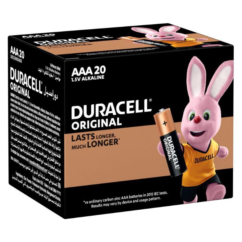 Duracell Original AAA 1.5V Alkaline Battery (box/20pcs)