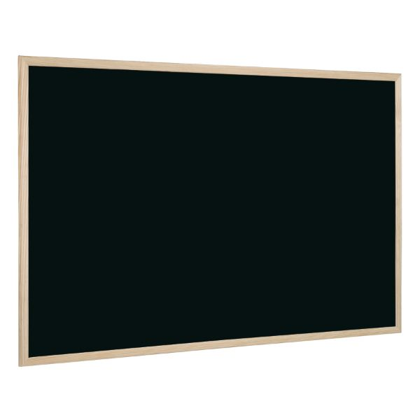 Bi-Office Chalk Board with Wooden Frame 90 x 120cm - Black